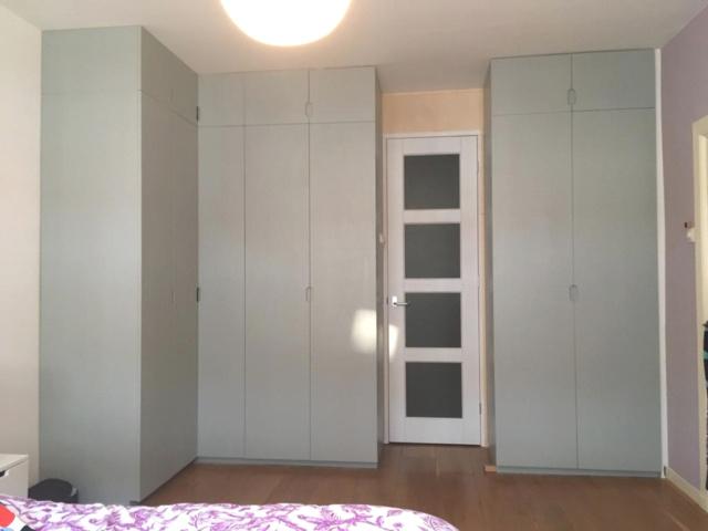 inbouw kledingkast met hoekkast- deuren dicht