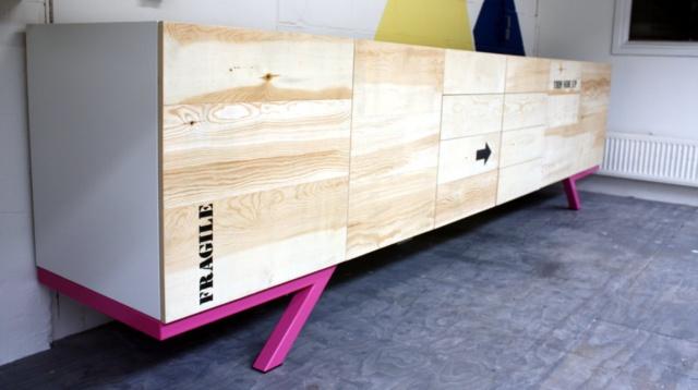 dressoir op maat van 350 cm breed