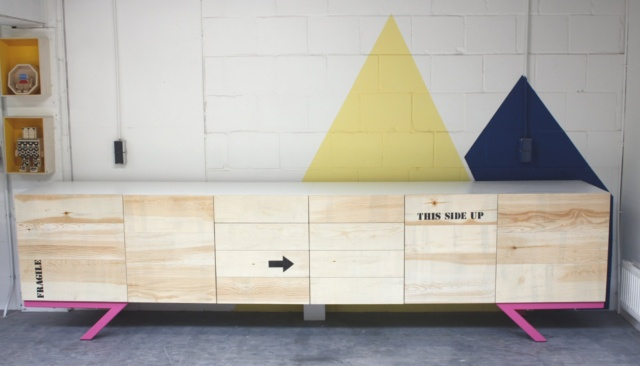 dressoir op maat gemaakt 350 cm breed